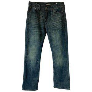 Lucky Brand Blue Medium Wash L Straight Leg Jeans